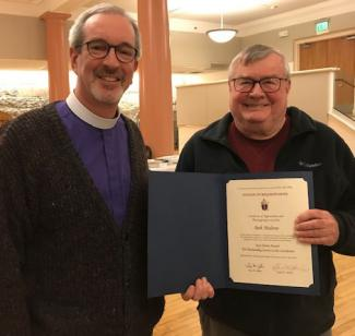 Congregational Consultant of the Year 2018 Bob Malone