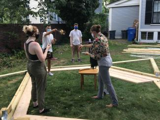 Harvard Chaplaincy Sacred Tent project