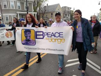 B-PEACE at Mother's Day Walk
