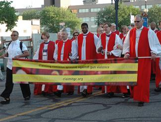 Bishops Against Gun Violence March