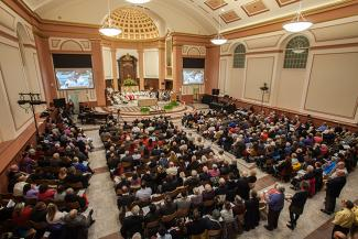 Cathedral rededication congregation