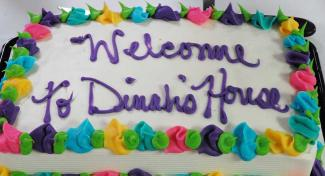 Dinah's House welcome