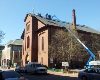 Sun Powered Stewardship Nine Churches In The Diocese