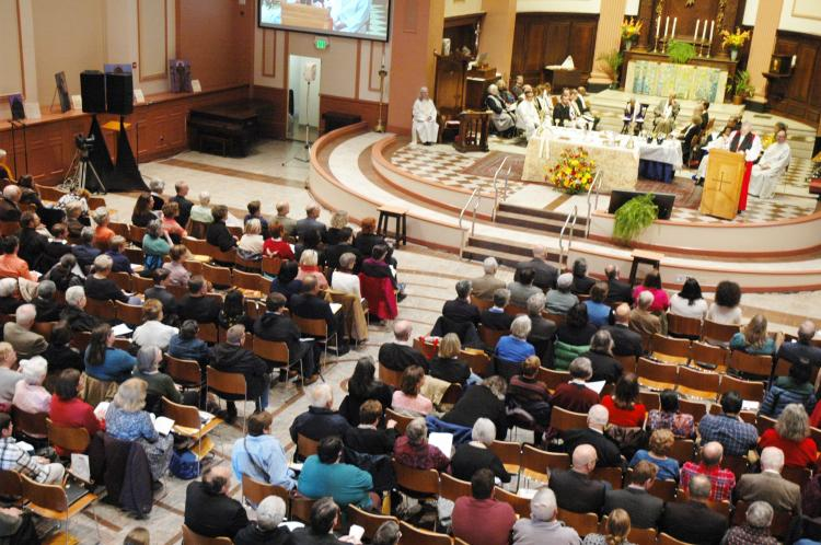 Diocesan Convention 2017 congregation