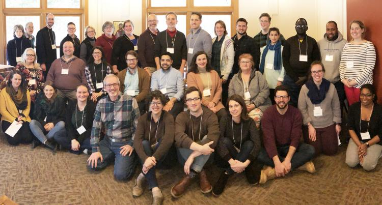 2019 postulants and candidates on retreat