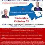 "MA bishops invite youth, Episcopalians of all ages to a pre-election ""walk and talk"""