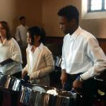 St. Mary's, Dorchester steel pan ensemble