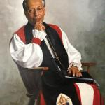 Bishop Barbara C. Harris portrait by Simmie Kno