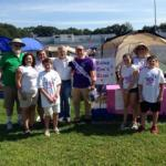 """Bishop Tom's Team"" participates in Amesbury Relay for Life"
