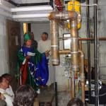 New boiler gets blessed at Grace Church, Medford