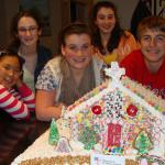 Westford middle schoolers are 'Best in Show' gingerbread church makers